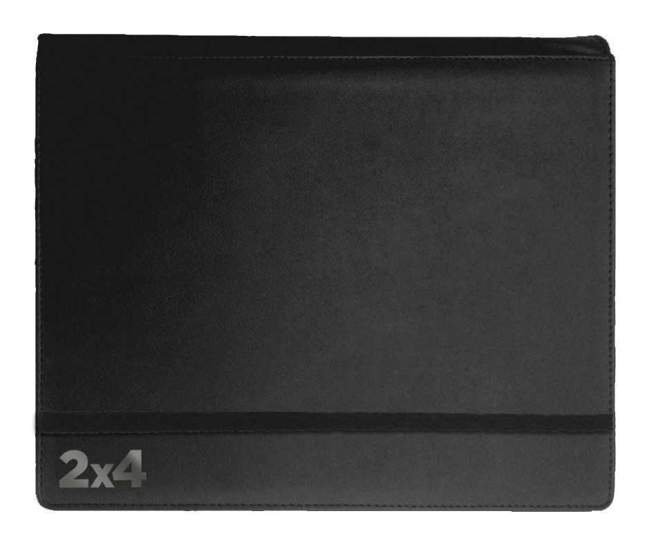 Binder - 2x4 8 Pkt. Black