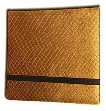 Binder - 3x4 12 Pkt. Dragon Hide Gold