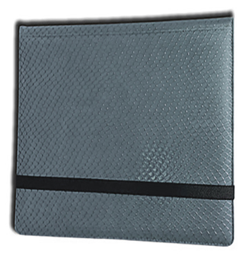 Binder - 3x4 12 Pkt. Dragon Hide Grey