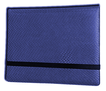 Binder - 2x4 8 Pkt. Dragon Hide Blue