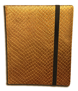 Binder - 9 Pkt Dragon Hide Gold