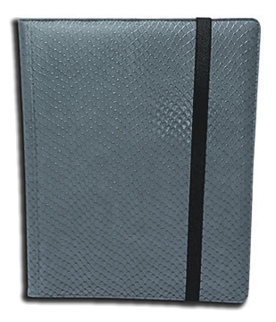 Binder - 9 Pkt Dragon Hide Grey