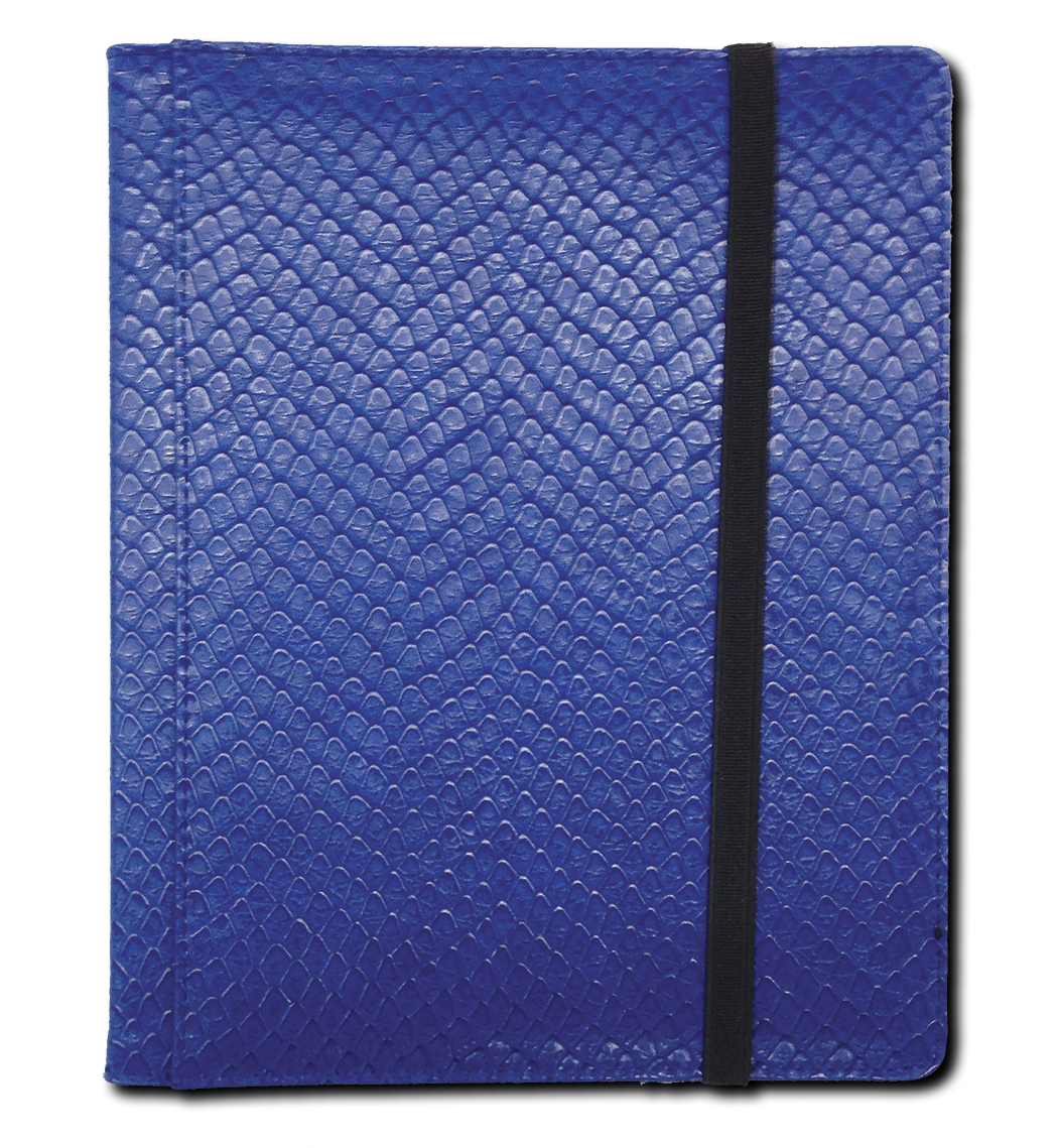 Binder - 4 Pkt Dragon Hide Blue
