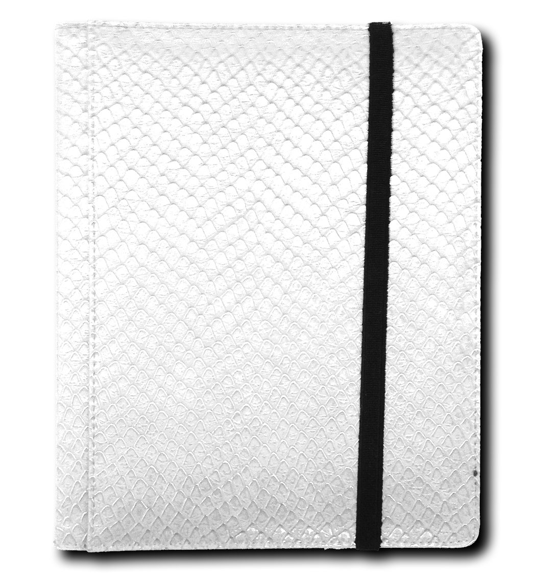 Binder - 4 Pkt Dragon Hide White