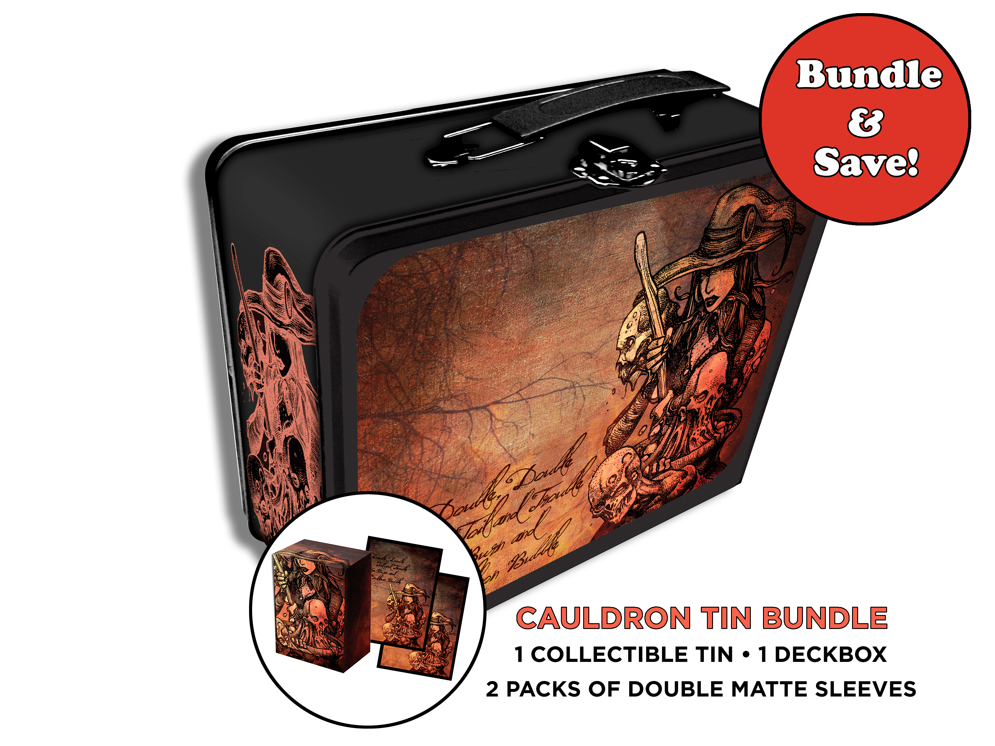 Cauldron Tin Bundle