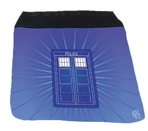 Messenger Bag Flap - Police Box