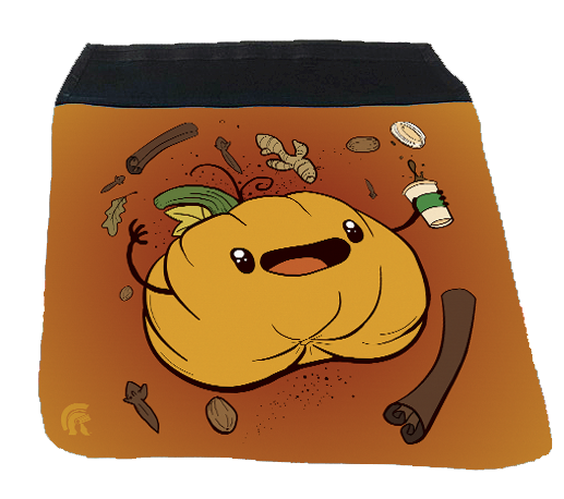 Messenger Bag Flap - Pumpkin Spice