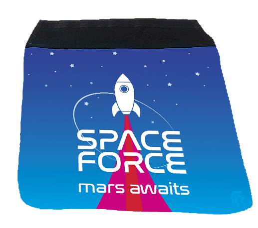 Messenger Bag Flap - Space Force
