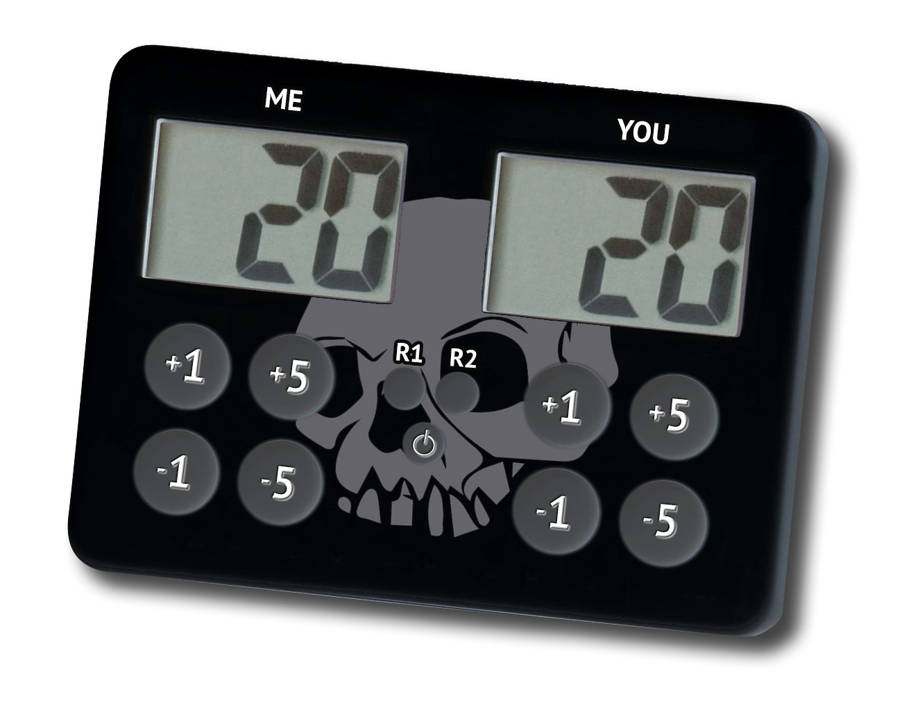 LifeCalc - Iconic Skull