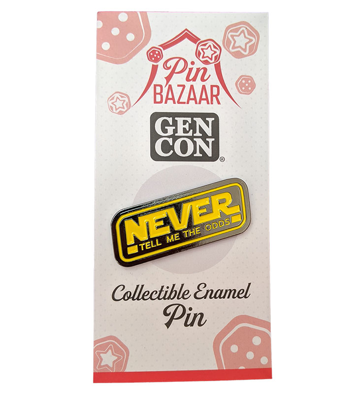 Never Tell Me the Odds - Gen Con 2020 Pin Bazaar Enamel Pin