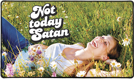Playmat - Not Today Satan