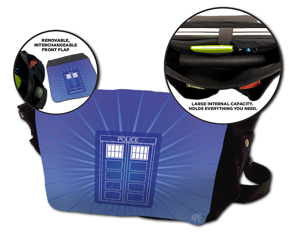 Messenger Bag - Police Box