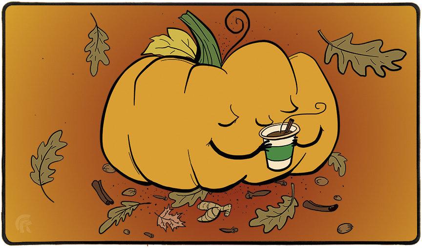 Playmat - Pumpkin Spice