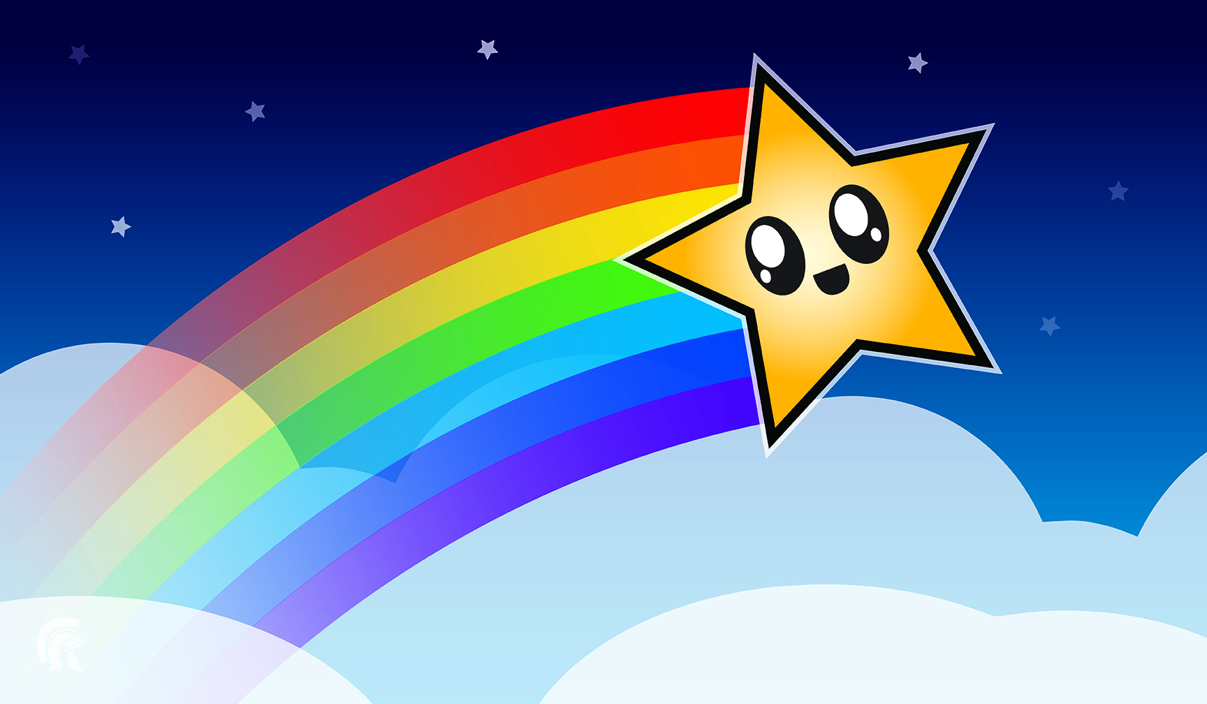 Playmat - Rainbow Star