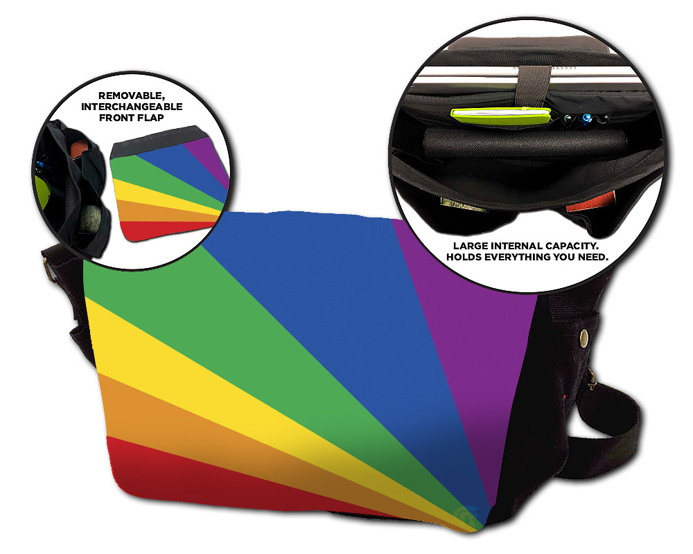 Messenger Bag - Rainbow