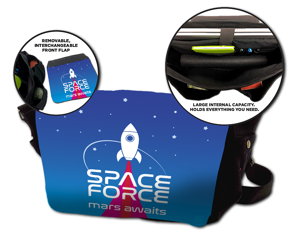 Messenger Bag - Space Force