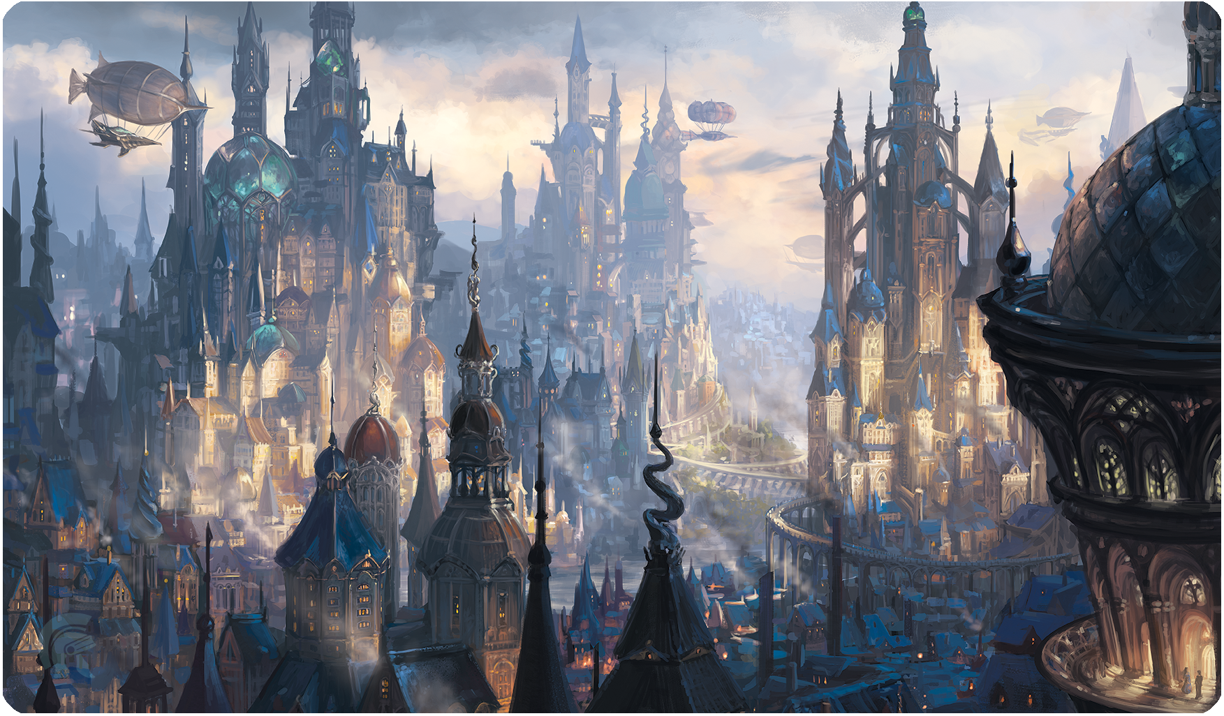 Playmat - Veiled Kingdoms - St Levin