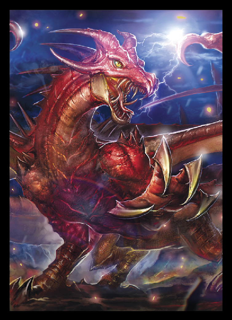 EPIC - Character Sleeves - Draka, Dragon Tyrant