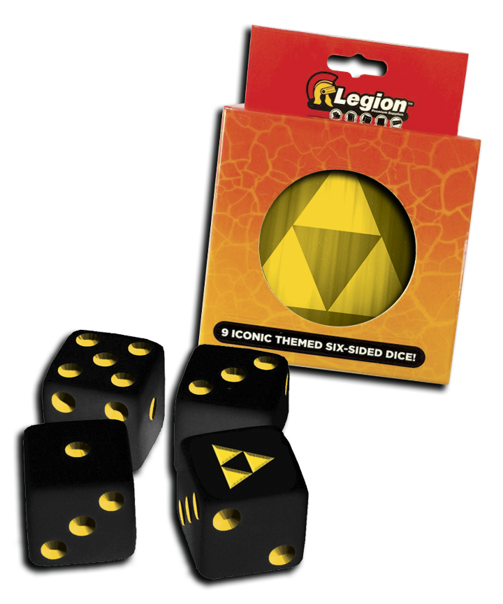 Dice Tin - Iconic Tri-Force d6
