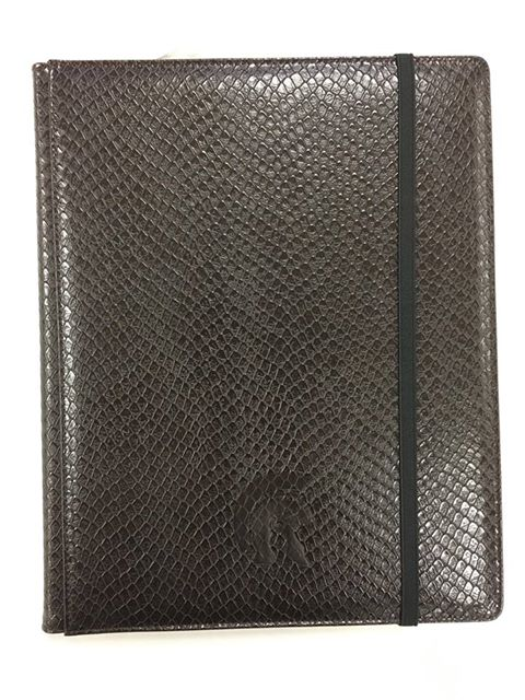 Binder - 9 Pkt Dragon Hide Dark Chocolate