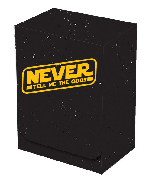 Deckbox - Never Tell Me the Odds