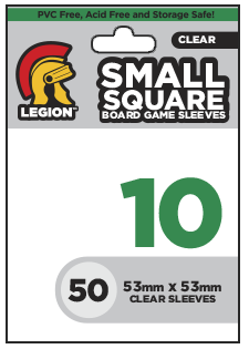 Board Game Sleeve10 - Small Square