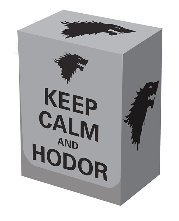 Deckbox - Keep Calm Hodor
