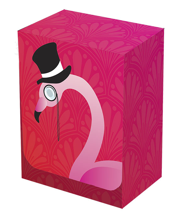 Deckbox - Flamingo