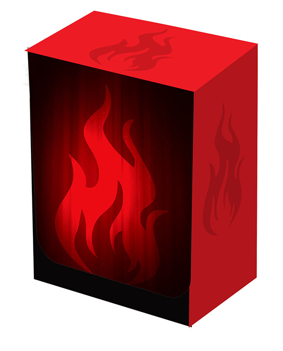 Deckbox - Super Iconic Fire