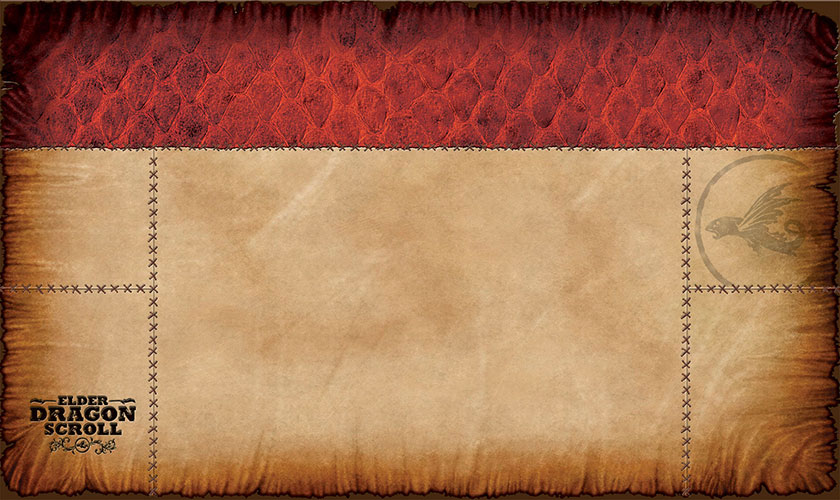 Elder Dragon Scroll - Red