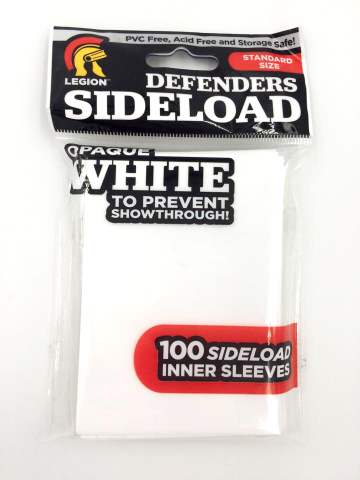 Sleeves - Sideload Defenders - White