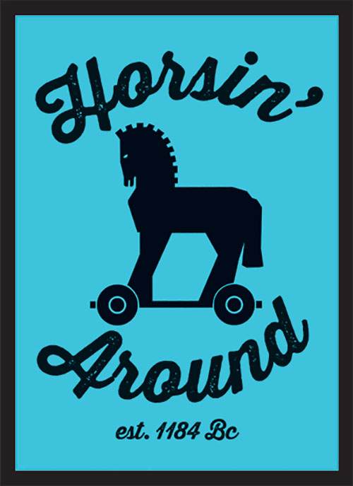Sleeve - Horsin\' Around