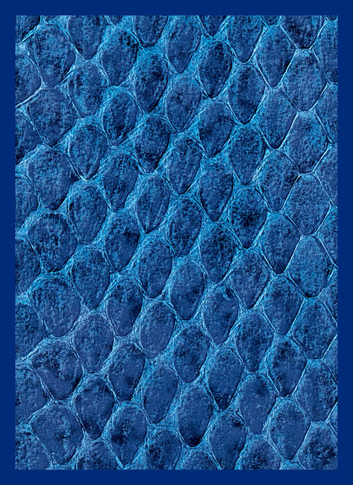 Sleeve - Dragon Hide Blue