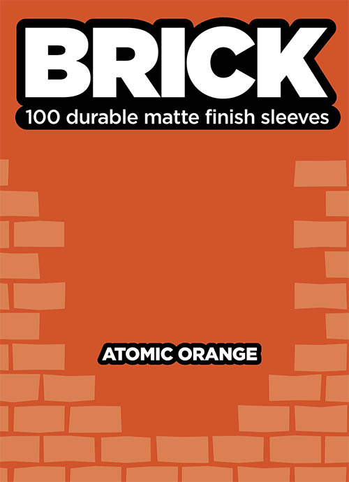 Sleeve - Brick - Atomic Orange