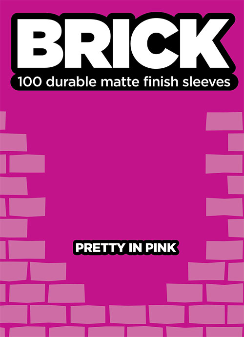 Sleeve - Brick - Pretty in Pink