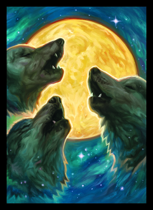 Sleeve - 3 Wolf Moon