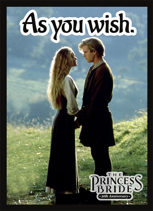 Sleeve - Princess Bride - As You Wish