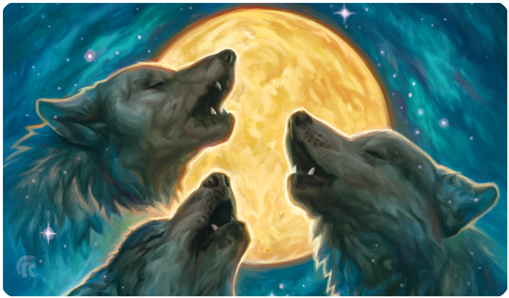 Playmat - 3 Wolf Moon