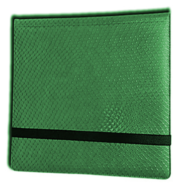 Binder - 3x4 12 Pkt. Dragon Hide Green