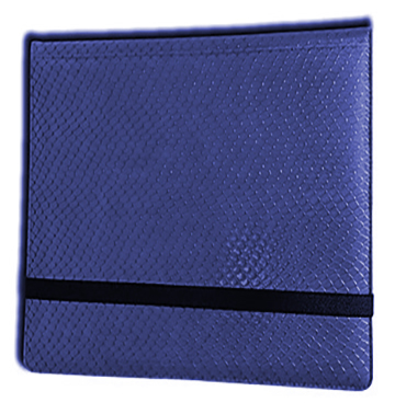 Binder - 3x4 12 Pkt. Dragon Hide Blue