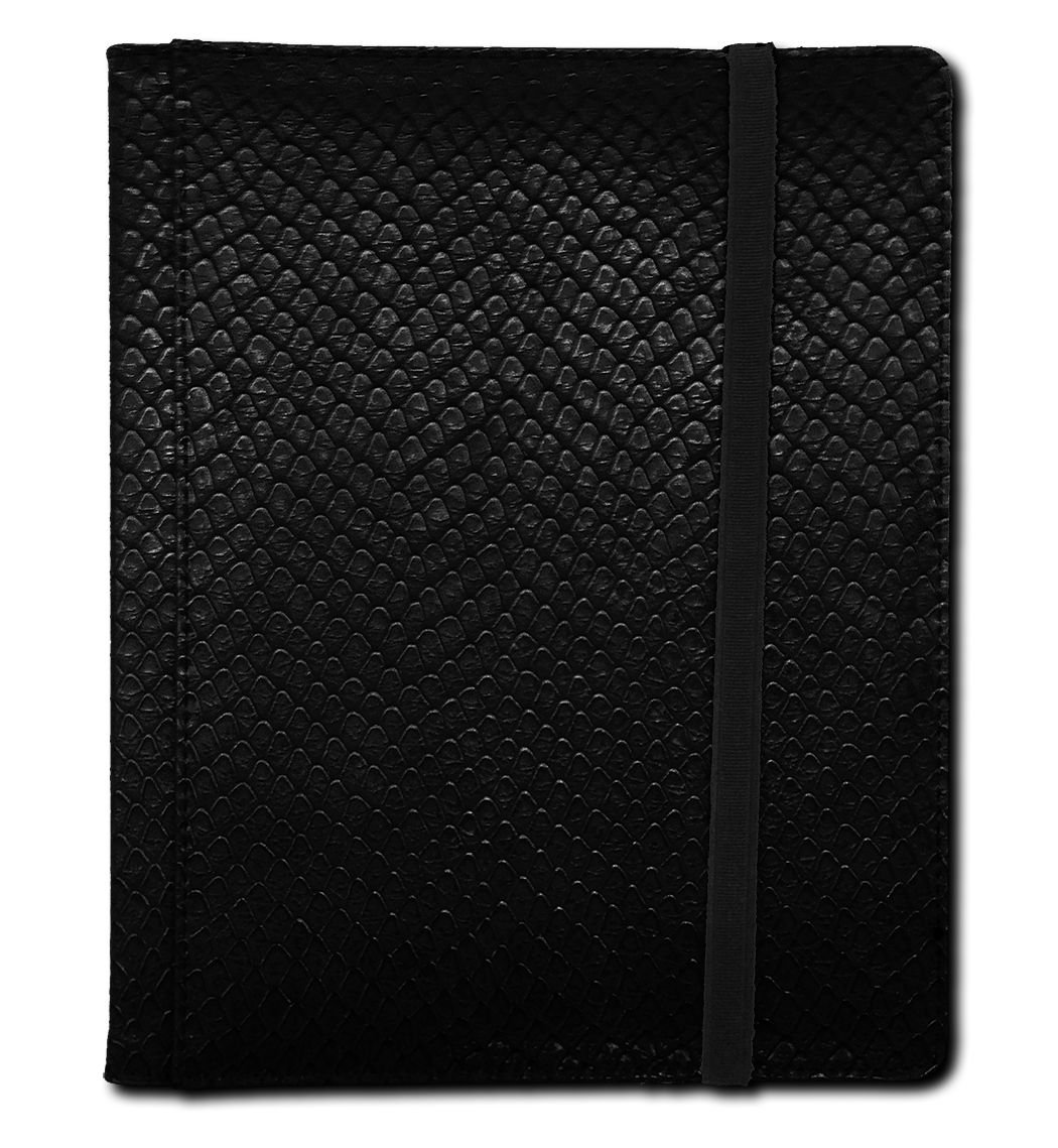 Binder - 4 Pkt Dragon Hide Black