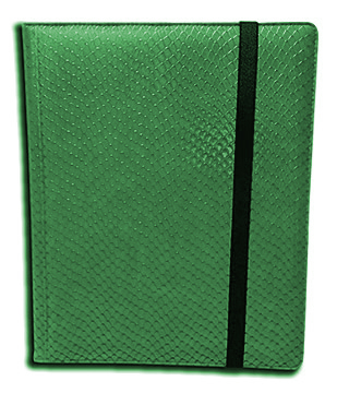 Binder - 9 Pkt Dragon Hide Green