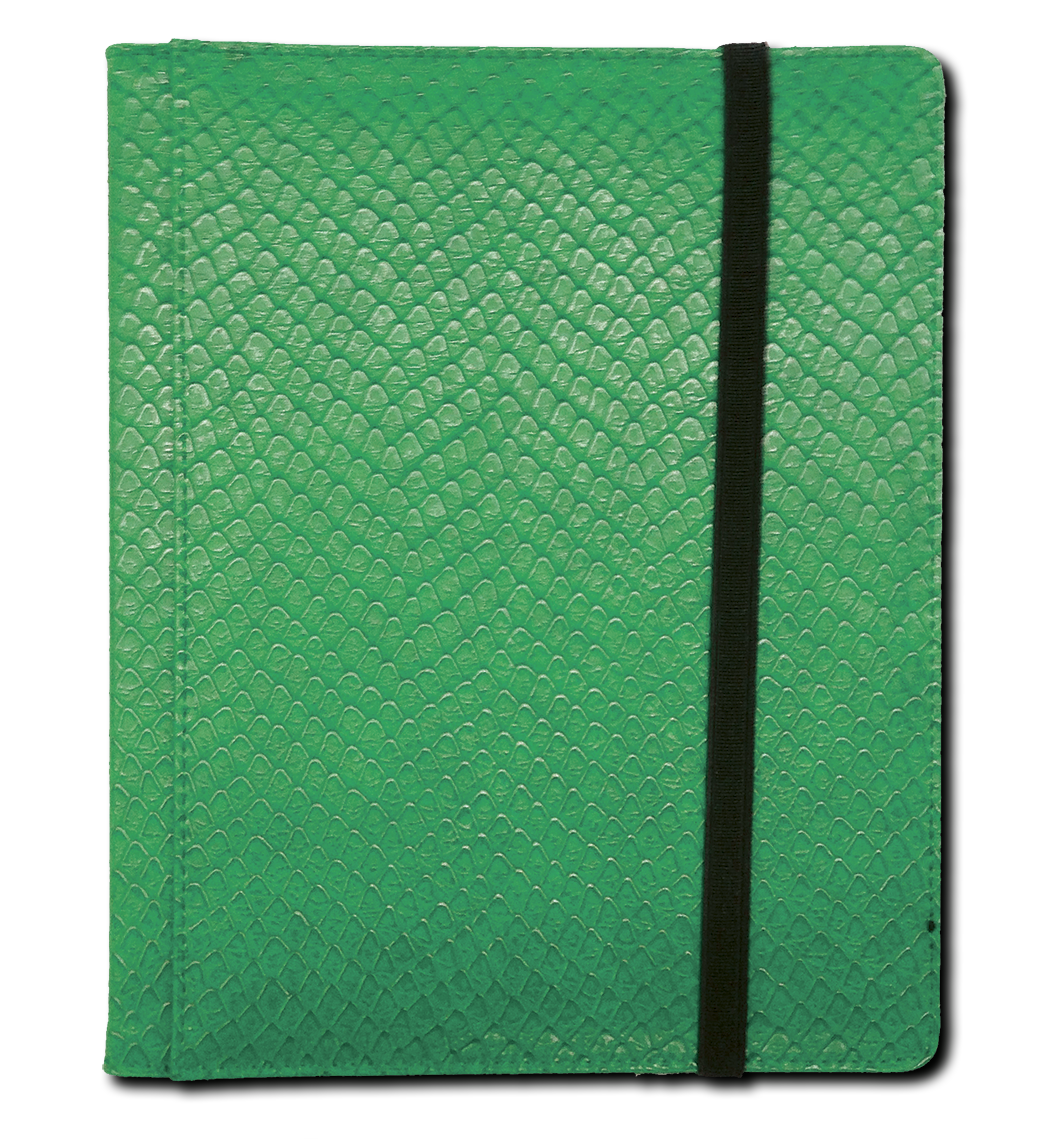 Binder - 4 Pkt Dragon Hide Green