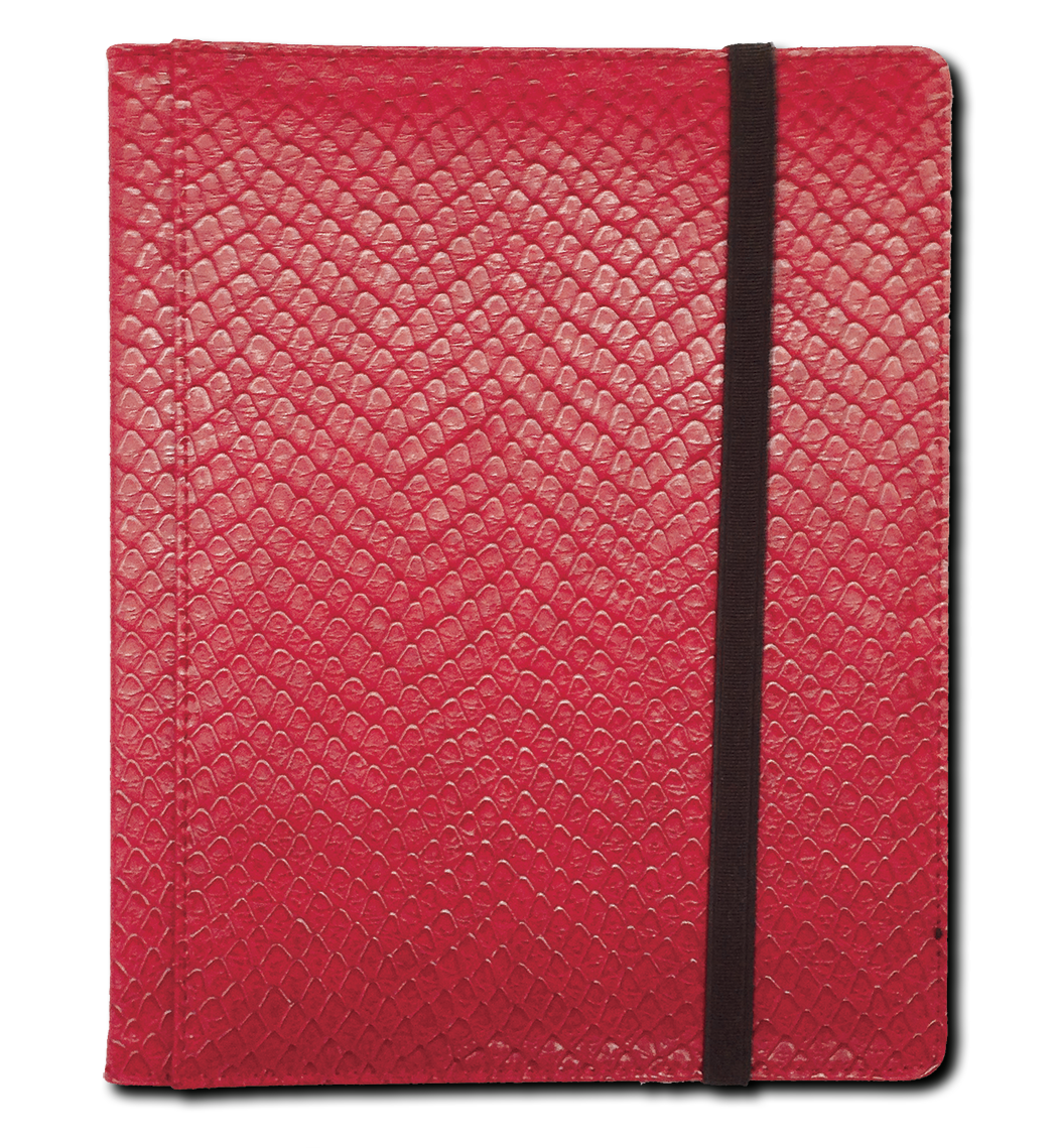 Binder - 4 Pkt Dragon Hide Red