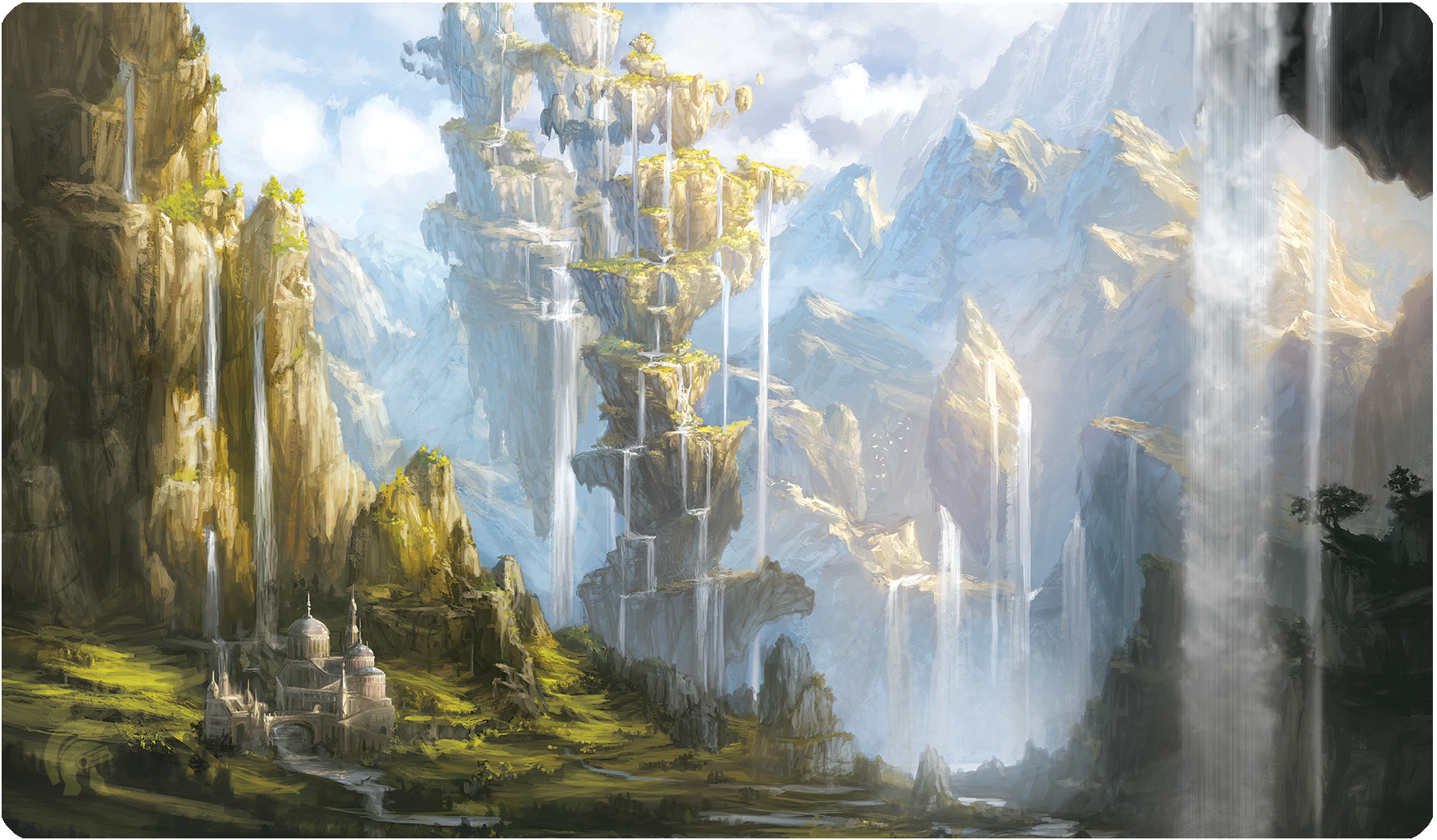 Playmat - Veiled Kingdoms - Oasis