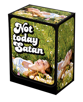 Deckbox - Not Today Satan