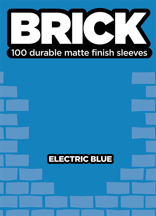 Sleeve - Brick - Electric Blue