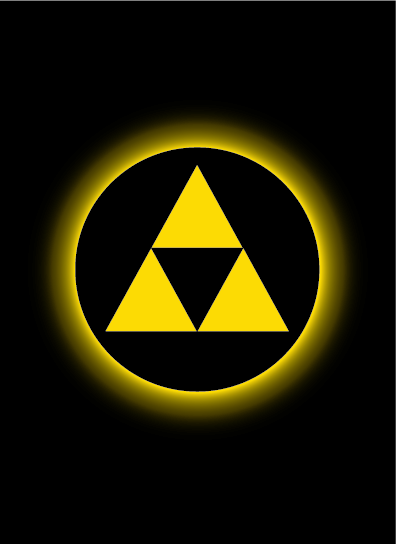 Sleeve - Absolute Iconic Triforce